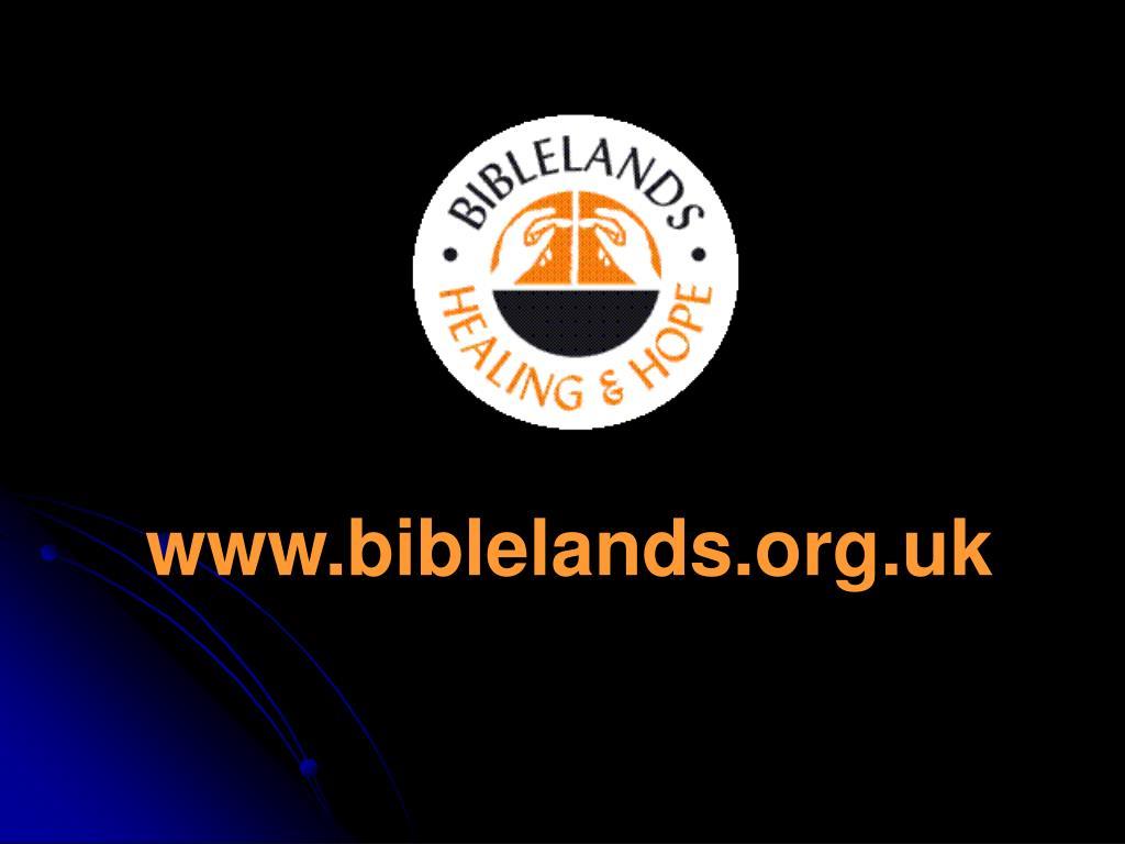 www.biblelands.org.uk