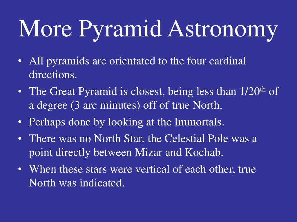 More Pyramid Astronomy