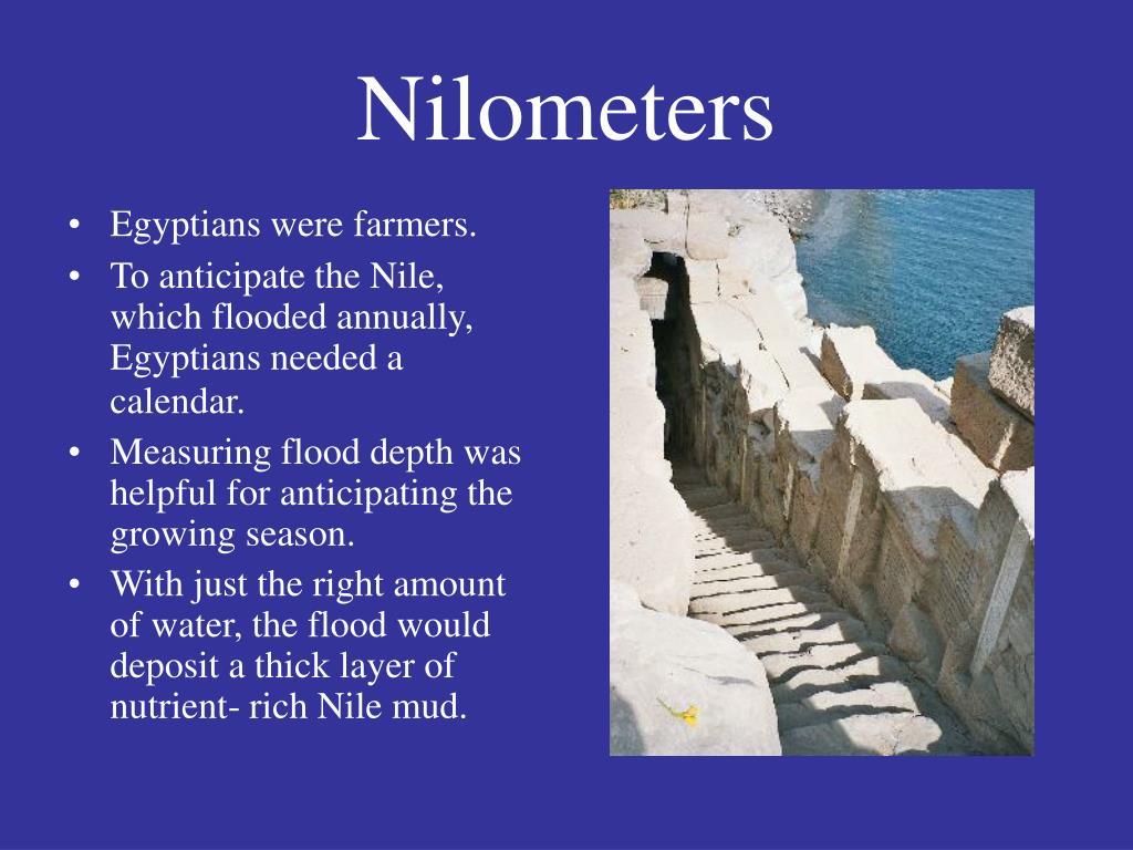 Nilometers