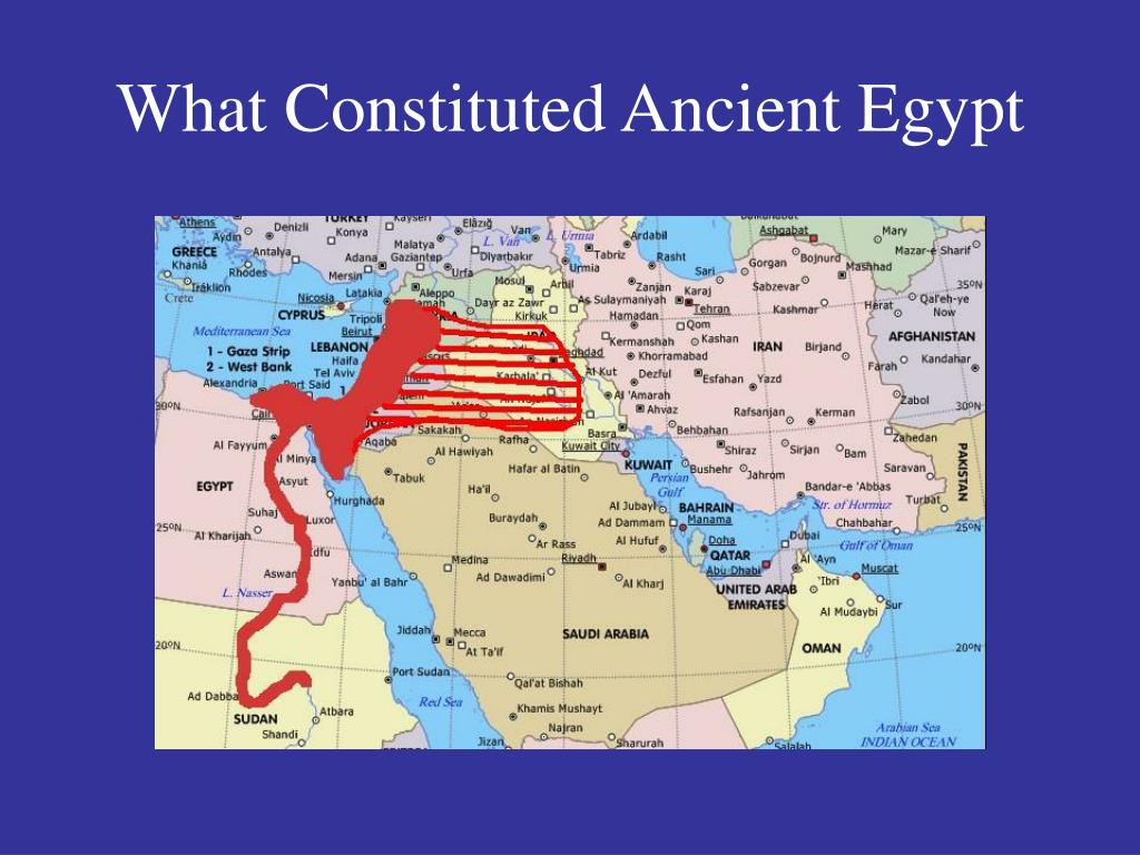 What Constituted Ancient Egypt