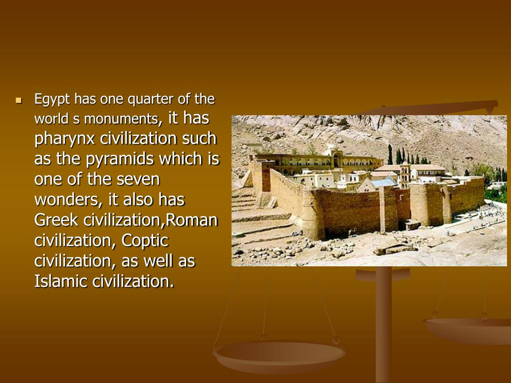 Egypt has one quarter of the world s monuments