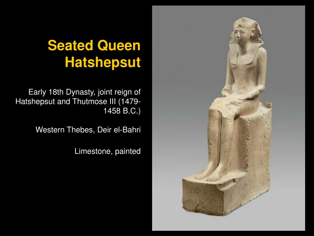 Seated Queen Hatshepsut
