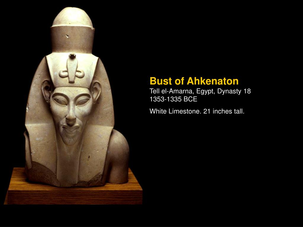 Bust of Ahkenaton