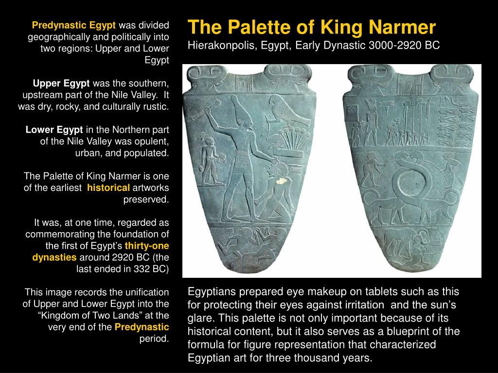 The Palette of King Narmer