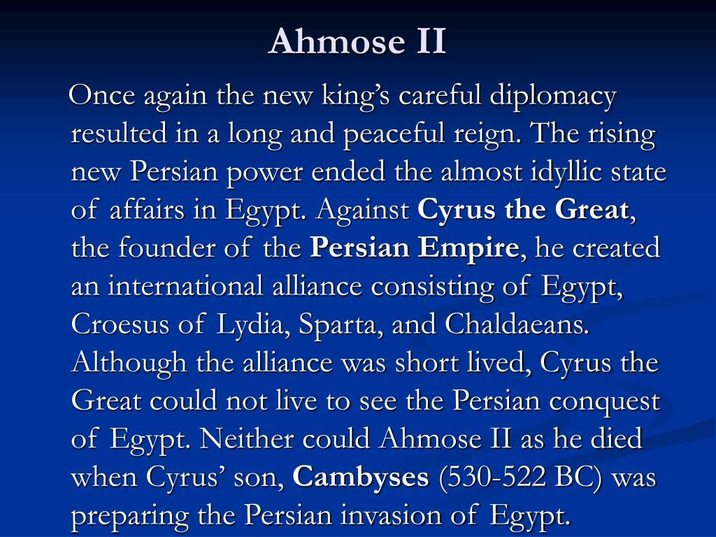 Ahmose II