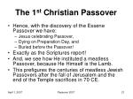 the 1 st christian passover11