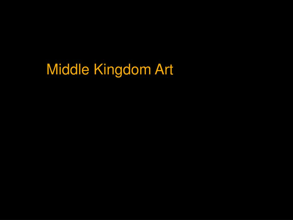 Middle Kingdom Art