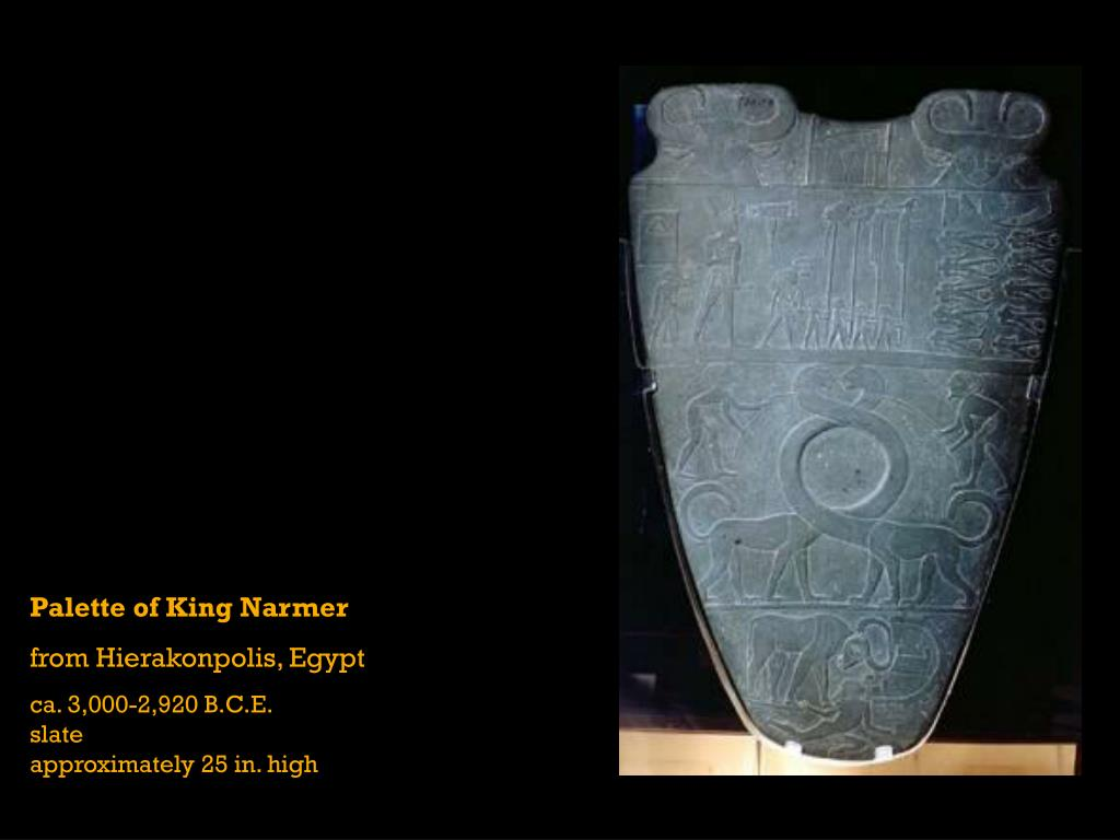 Palette of King Narmer
