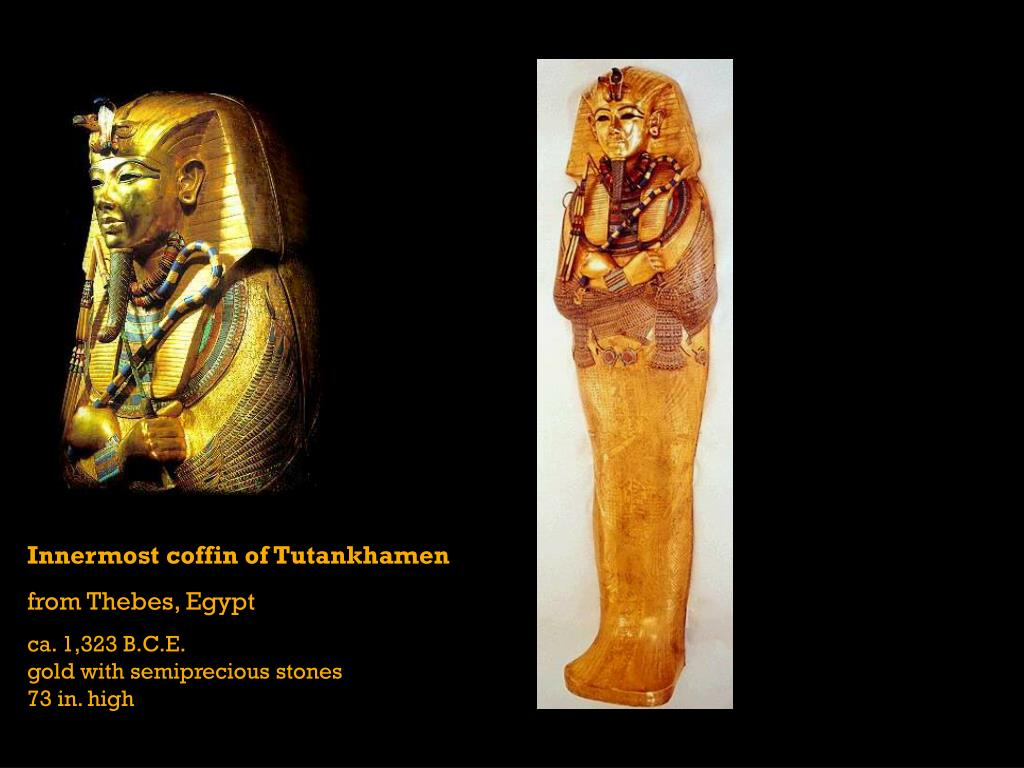 Innermost coffin of Tutankhamen