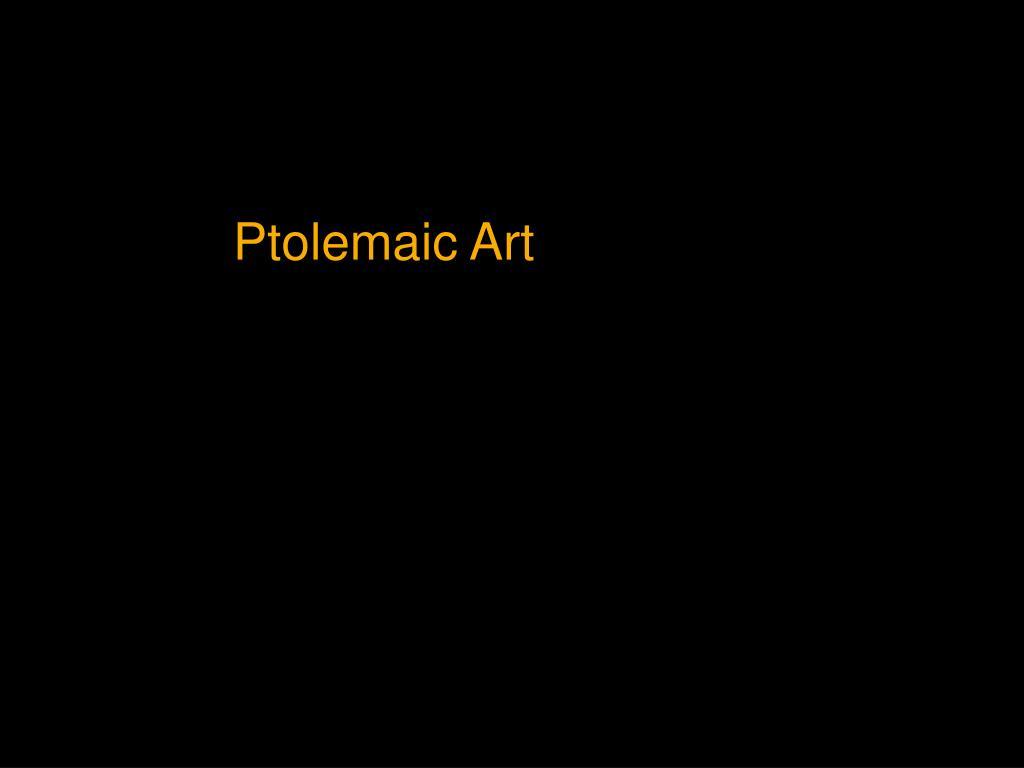 Ptolemaic Art