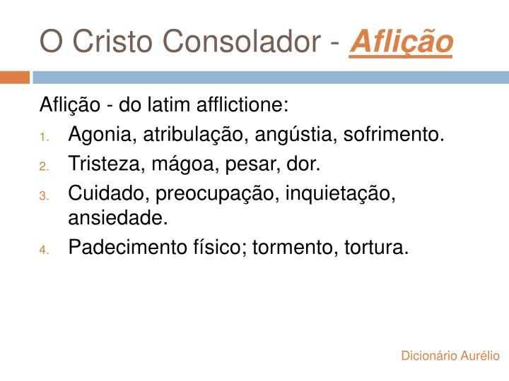 O Cristo Consolador -