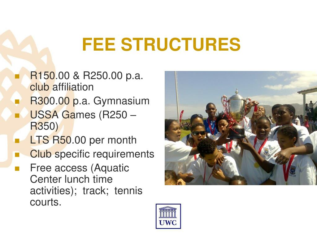 FEE STRUCTURES