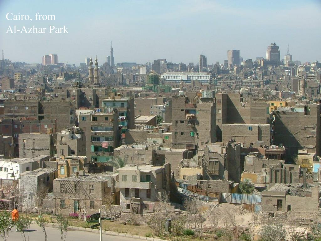 Cairo, from Al-Azhar Park