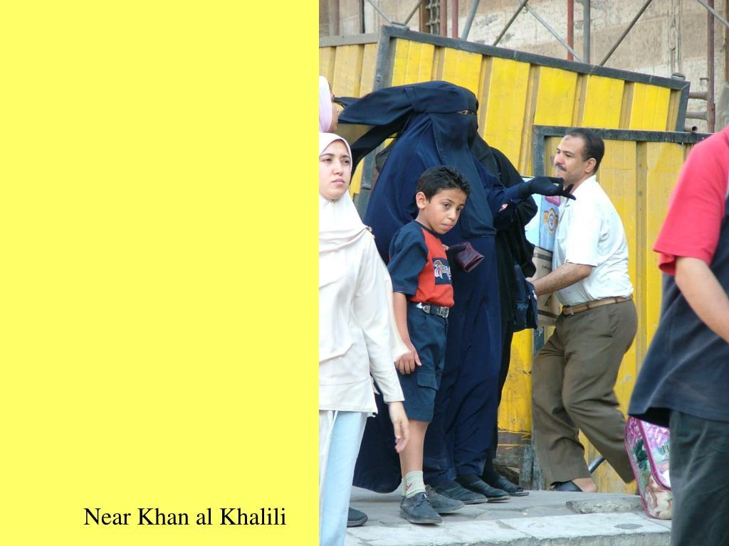 Near Khan al Khalili
