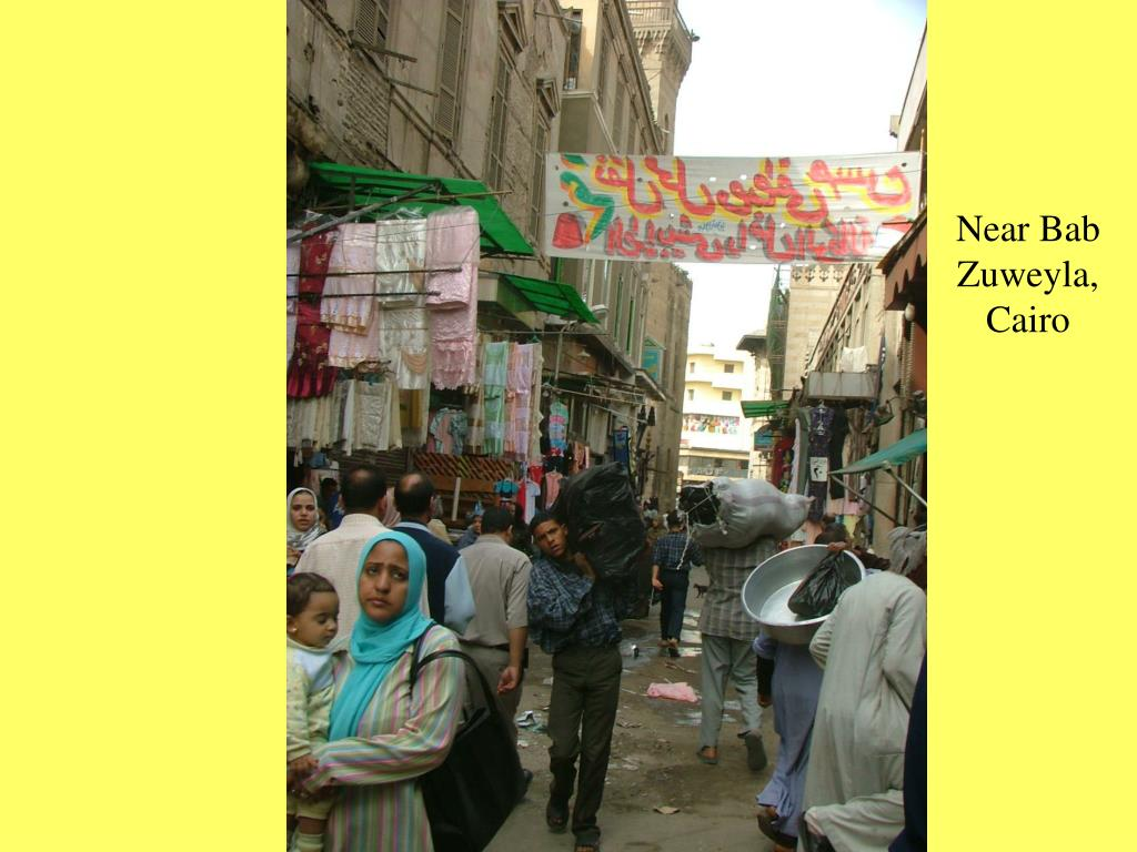 Near Bab Zuweyla, Cairo