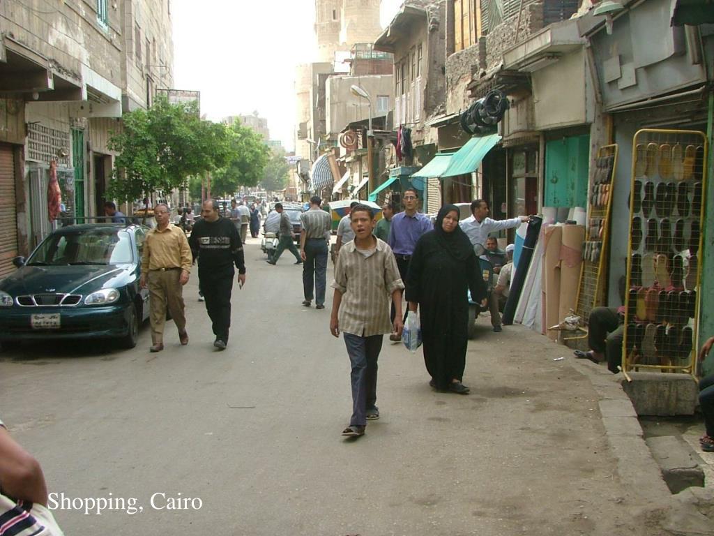 Shopping, Cairo