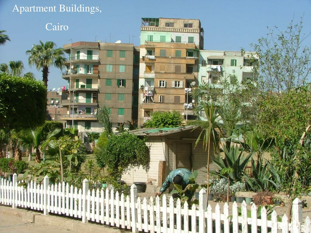 Apartment Buildings,