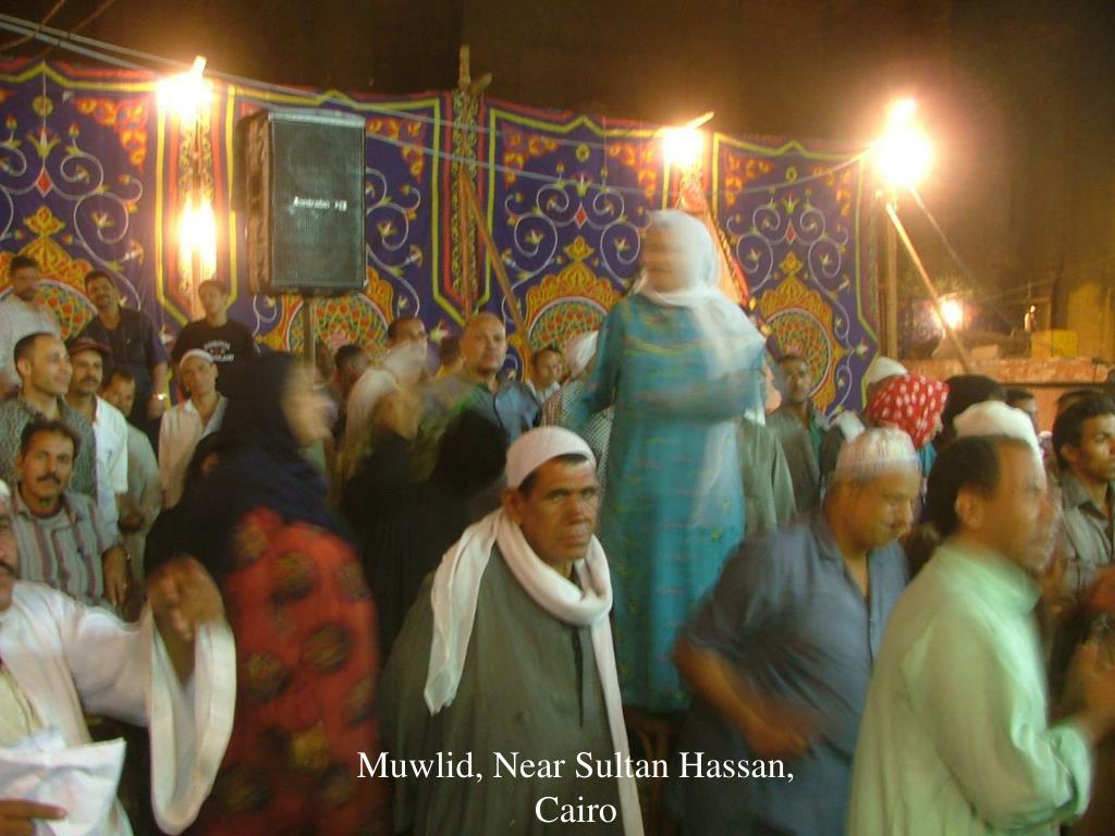 Muwlid, Near Sultan Hassan, Cairo