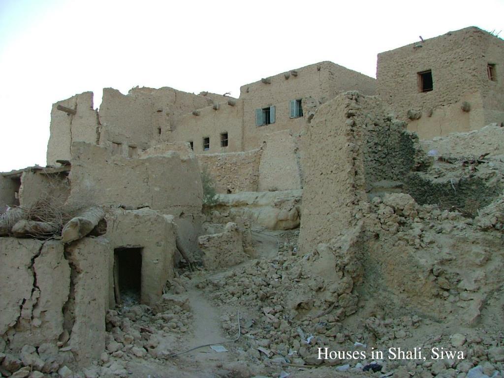 Houses in Shali, Siwa