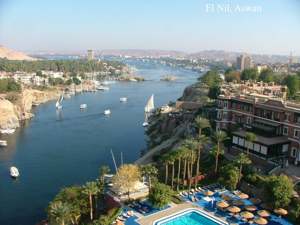 El Nil, Aswan