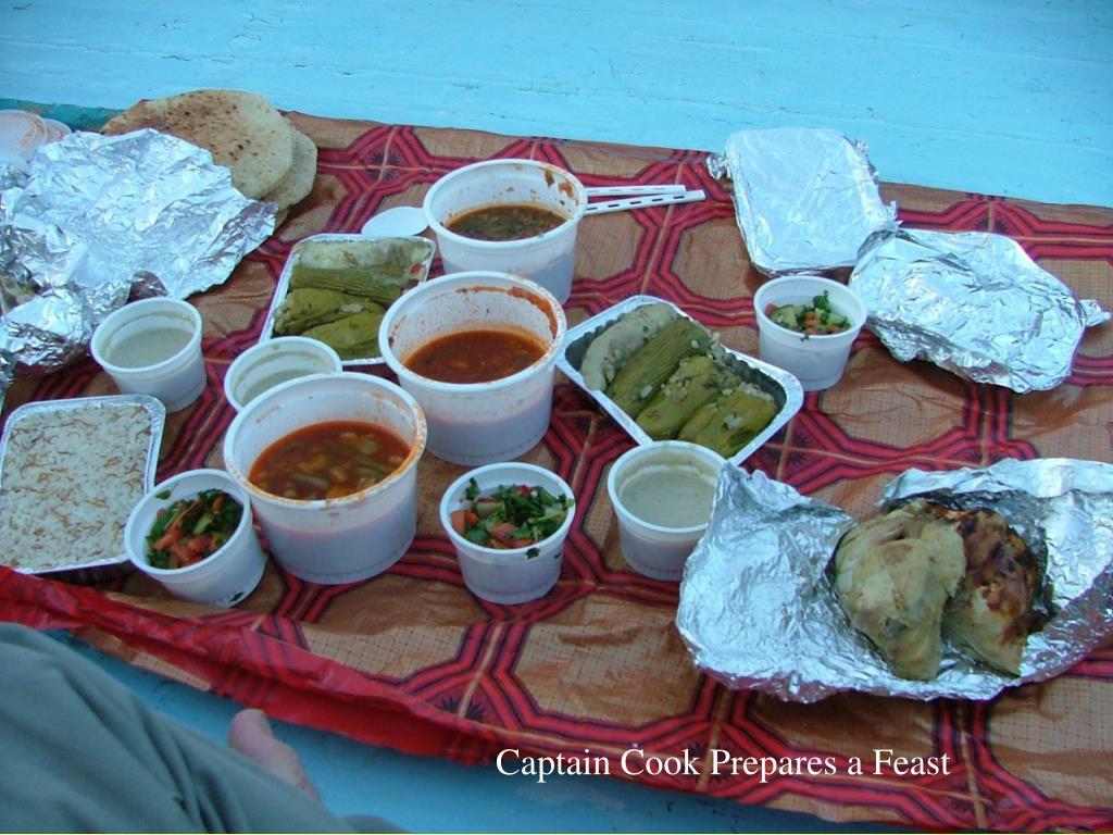 Captain Cook Prepares a Feast