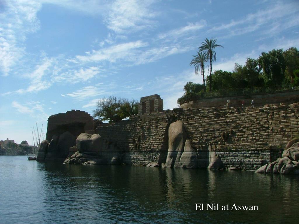 El Nil at Aswan