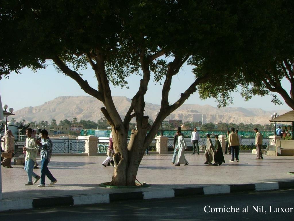 Corniche al Nil, Luxor