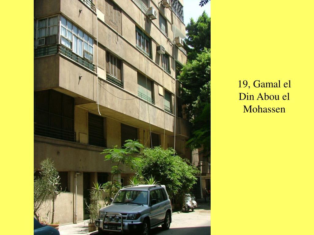 19, Gamal el Din Abou el Mohassen