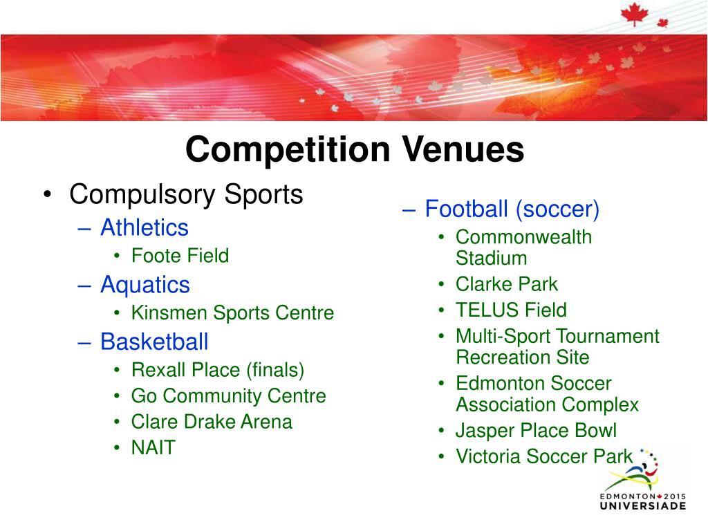 Compulsory Sports