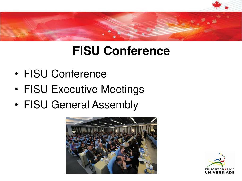 FISU Conference