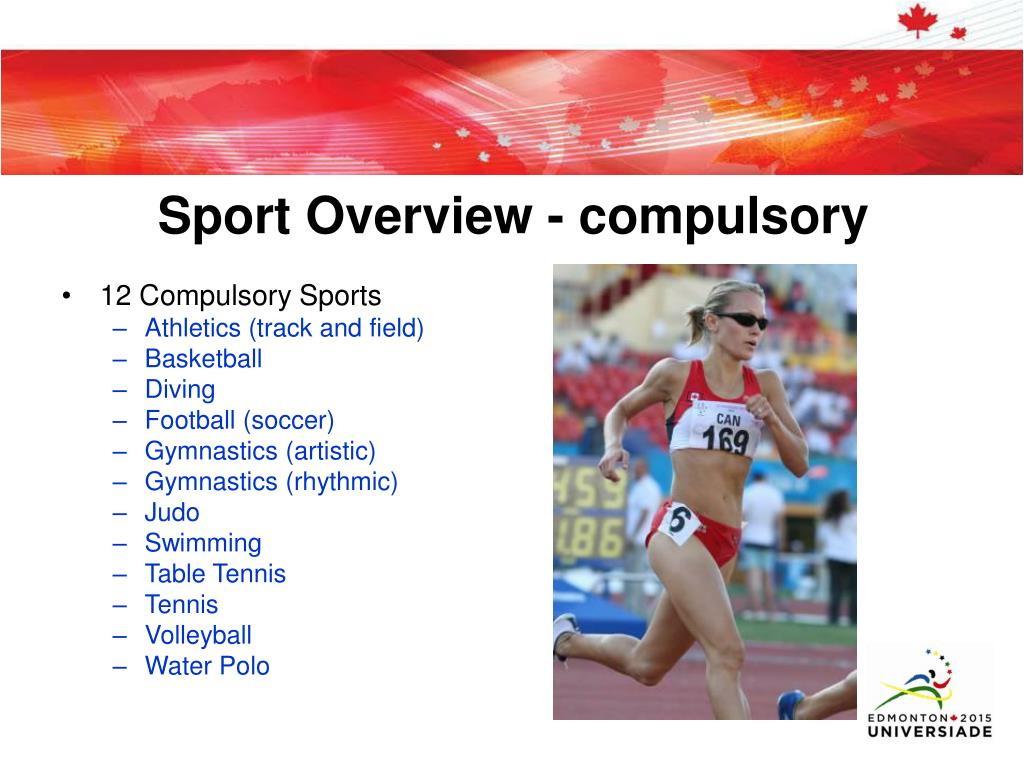 Sport Overview - compulsory