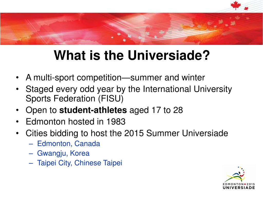 What is the Universiade?