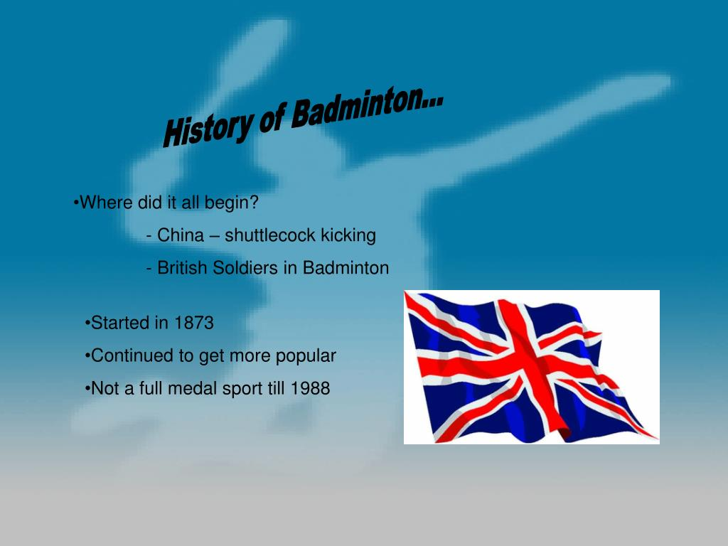 History of Badminton...