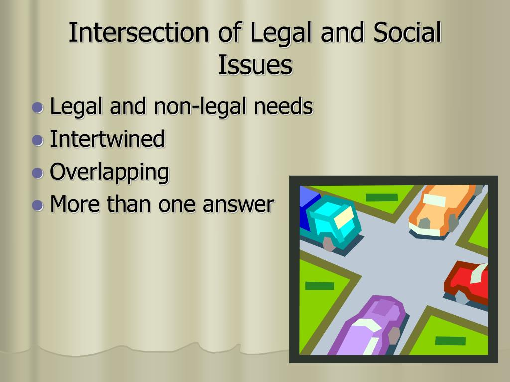 Intersection of Legal and Social Issues