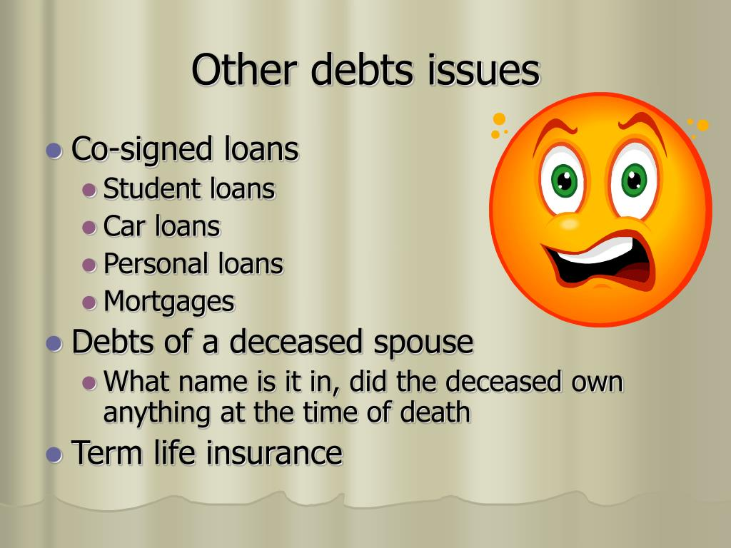 Other debts issues