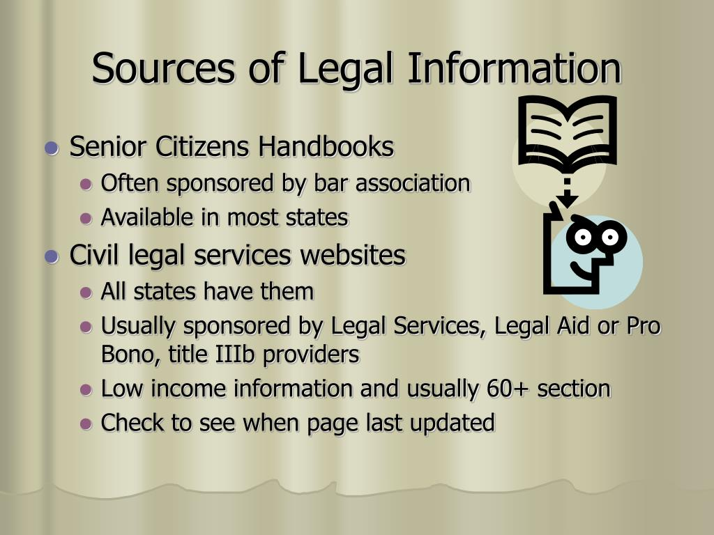 Sources of Legal Information
