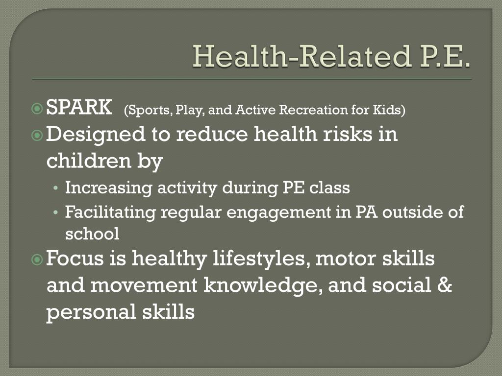 Health-Related P.E.