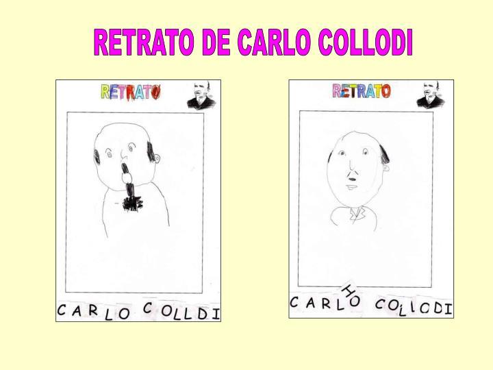 RETRATO DE CARLO COLLODI