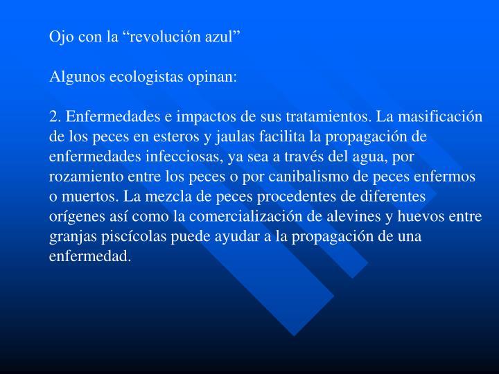 """Ojo con la """"revolución azul"""""""