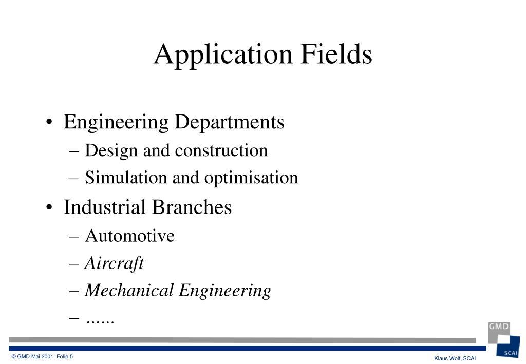 Engineering Departments