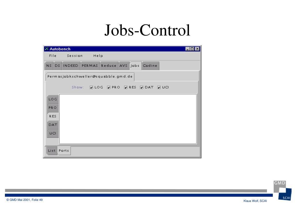 Jobs-Control