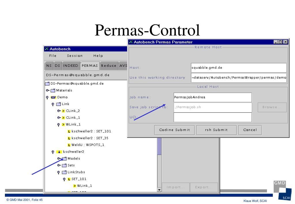 Permas-Control