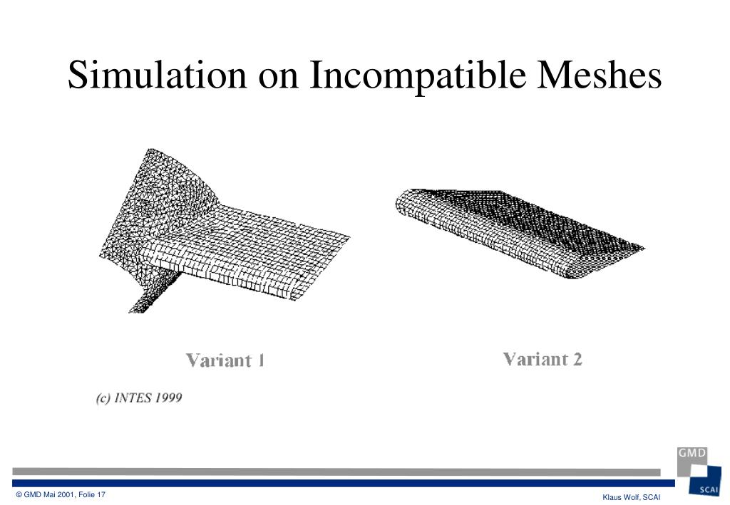 Simulation on Incompatible Meshes