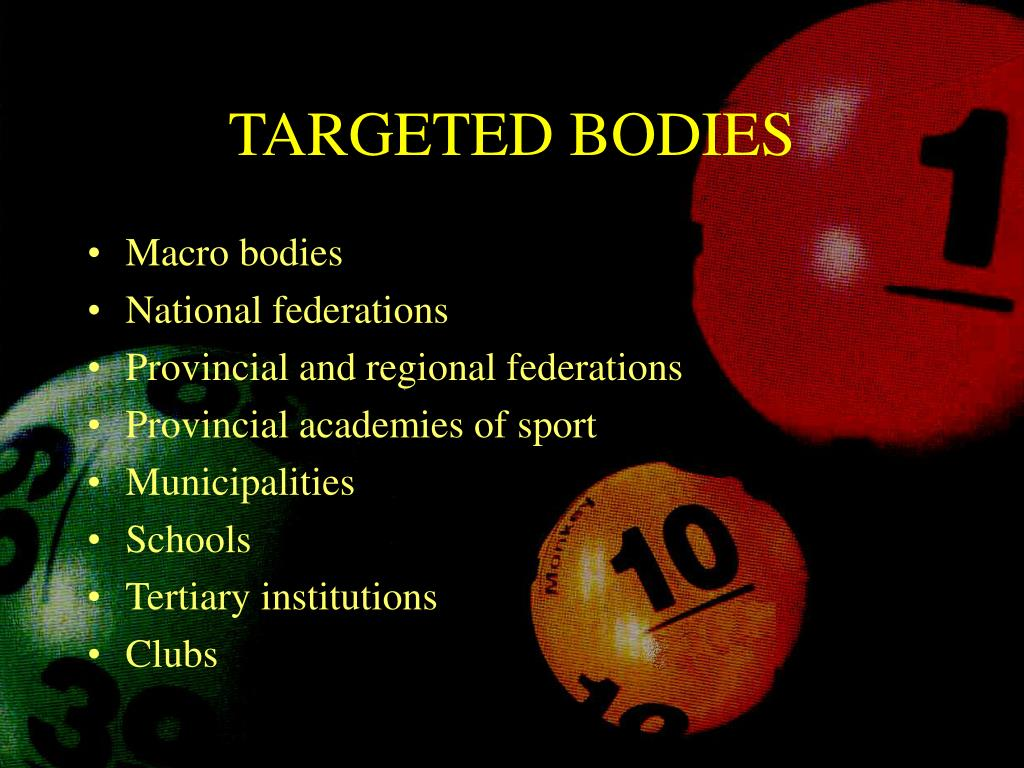 TARGETED BODIES