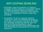 anti doping bowling17