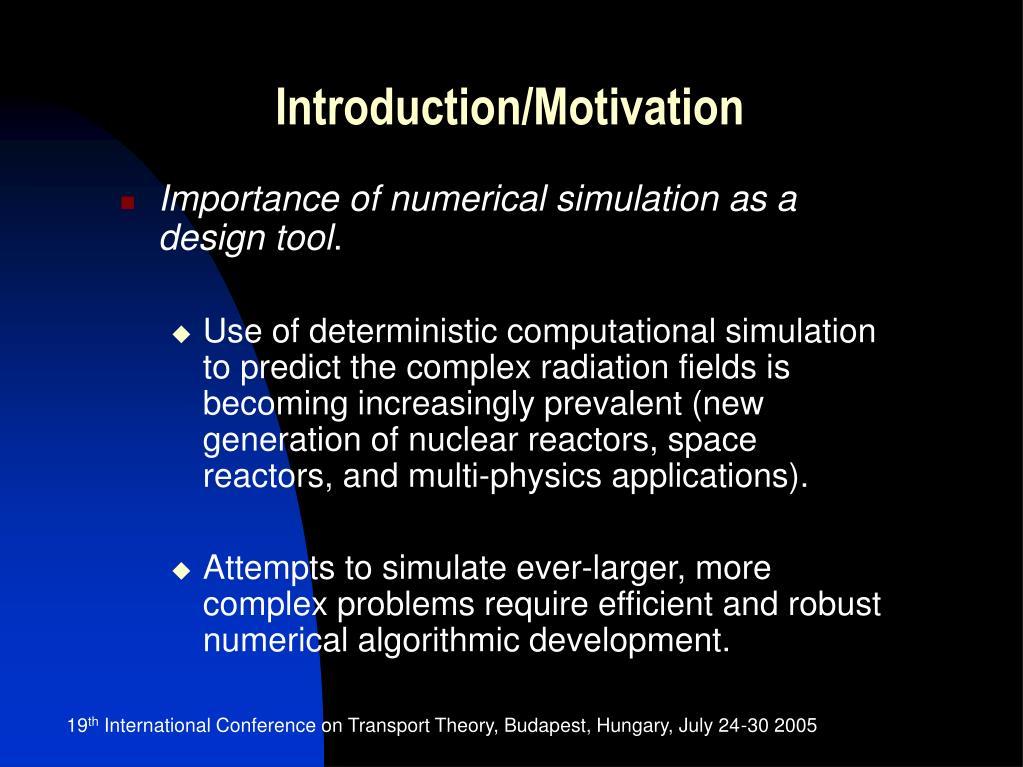 Introduction/Motivation