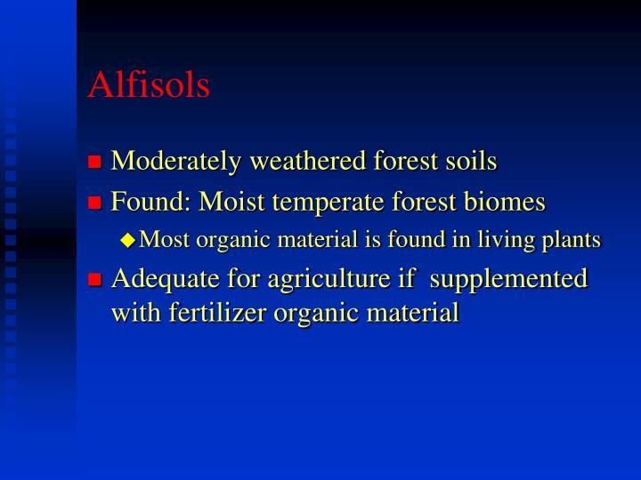 Alfisols