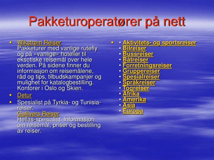 Wikstrøm Reiser