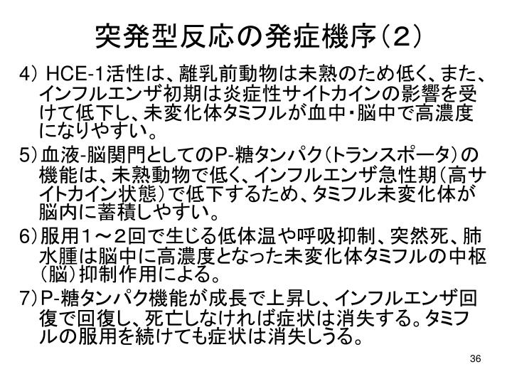 突発型反応の発症機序(2)