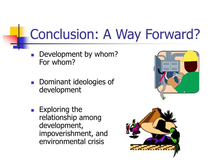 Conclusion: A Way Forward?